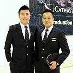 Chris Chung ('11, PC) with Caesar Yuen ('12, DB)