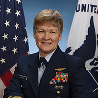 Rear Adm. Donna Cottrell ('97, WW)