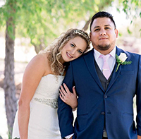 John Garza ('12, PC) and Cassie Lacey ('11, '12, PC)