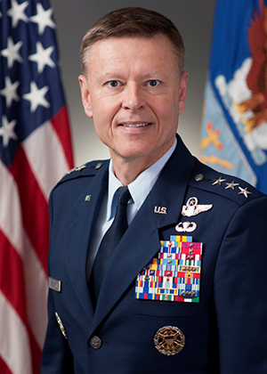Retired Lt. Gen. Michael R. Moeller ('84, WW)