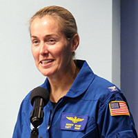 Capt. Nancy Hann ('06, WW)