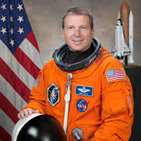 NASA astronaut Terry Virts ('97, WW)
