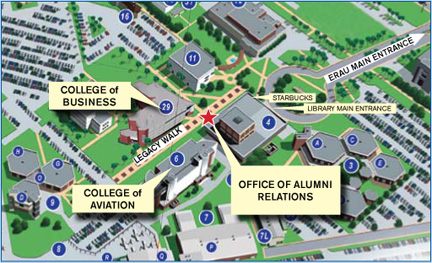 Embry Riddle Office Of Alumni Engagement New Central Location More